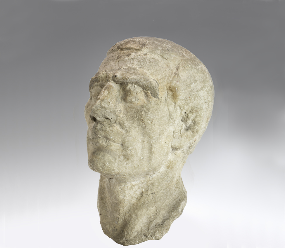 Maker unknown (Roman), Head of a man, 1st century BCE