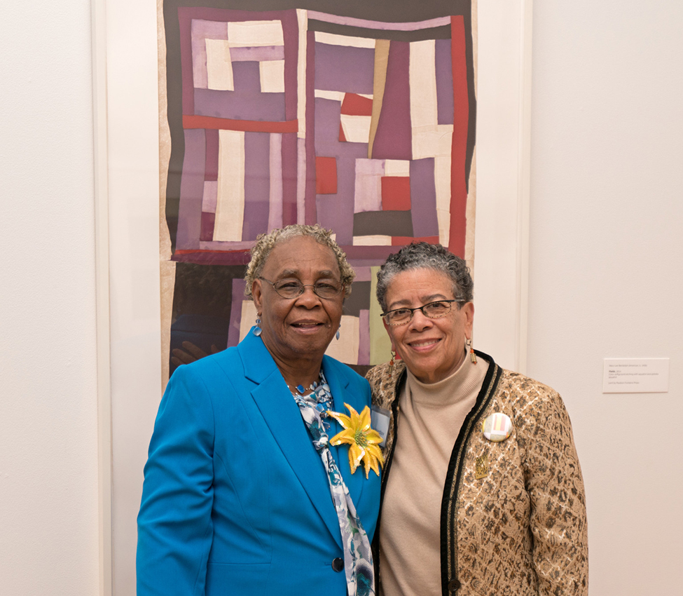 Mary Lee Bendolph and Dr. Alvia J. Wardlaw