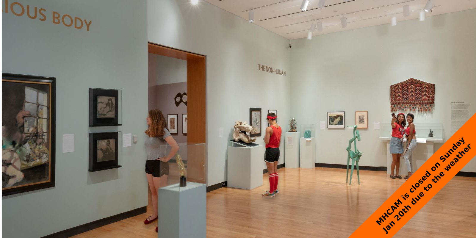 Museum Mania for first years, September 4, 2018