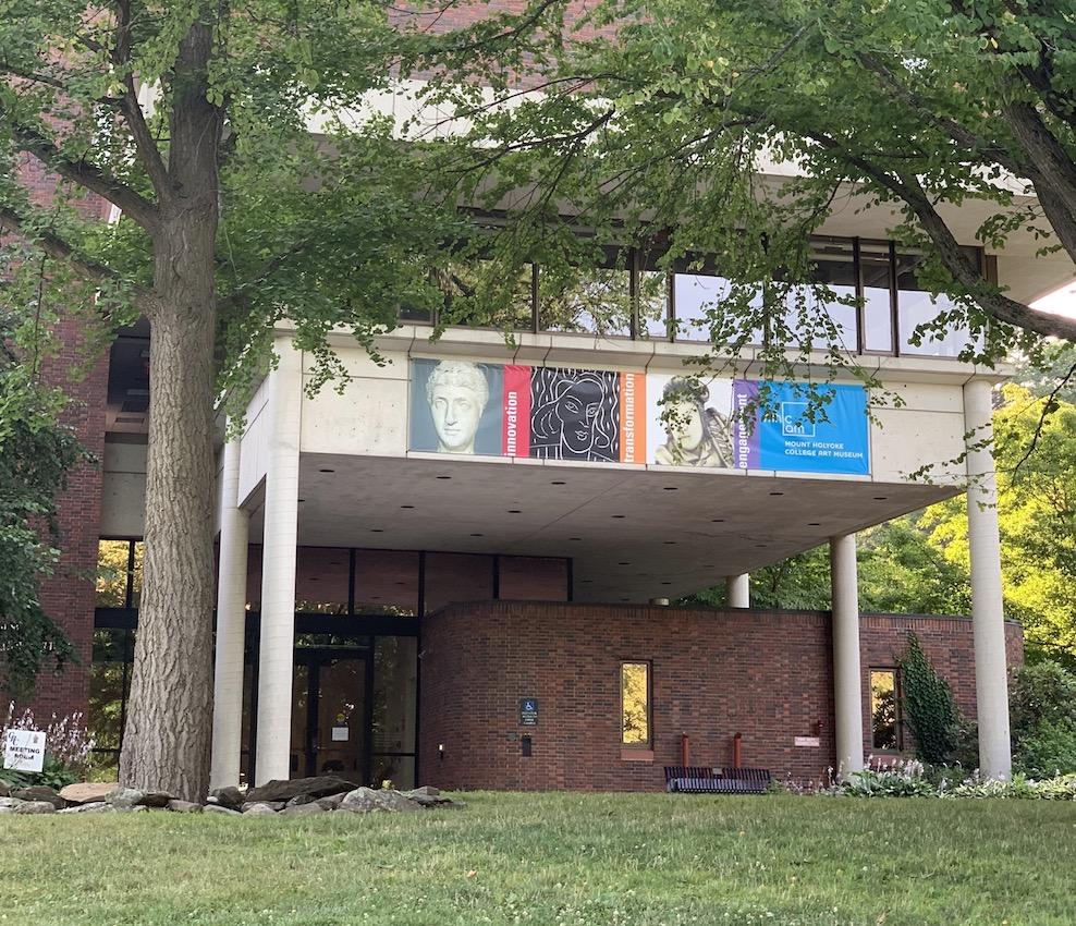Mount Holyoke College Art Museum exterior, 2020