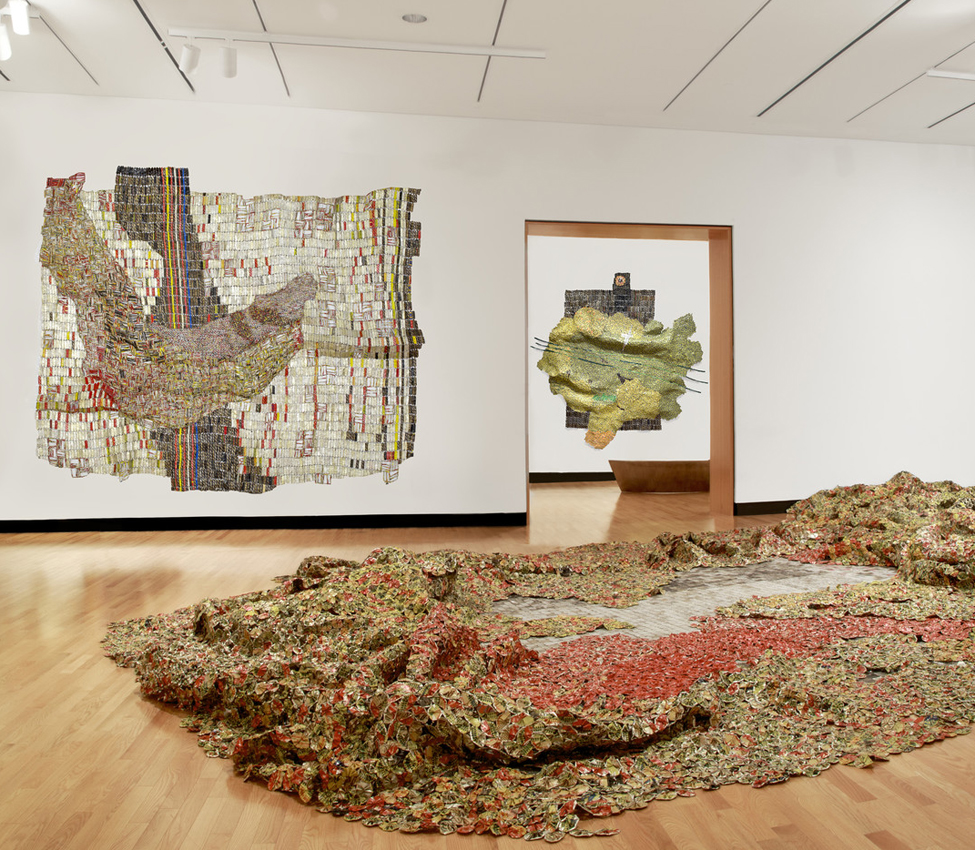 El Anatsui: New Worlds exhibition