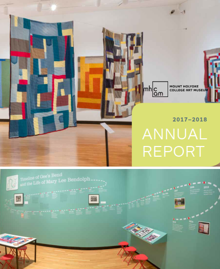 Cover of the 2017-2018 Annual Report