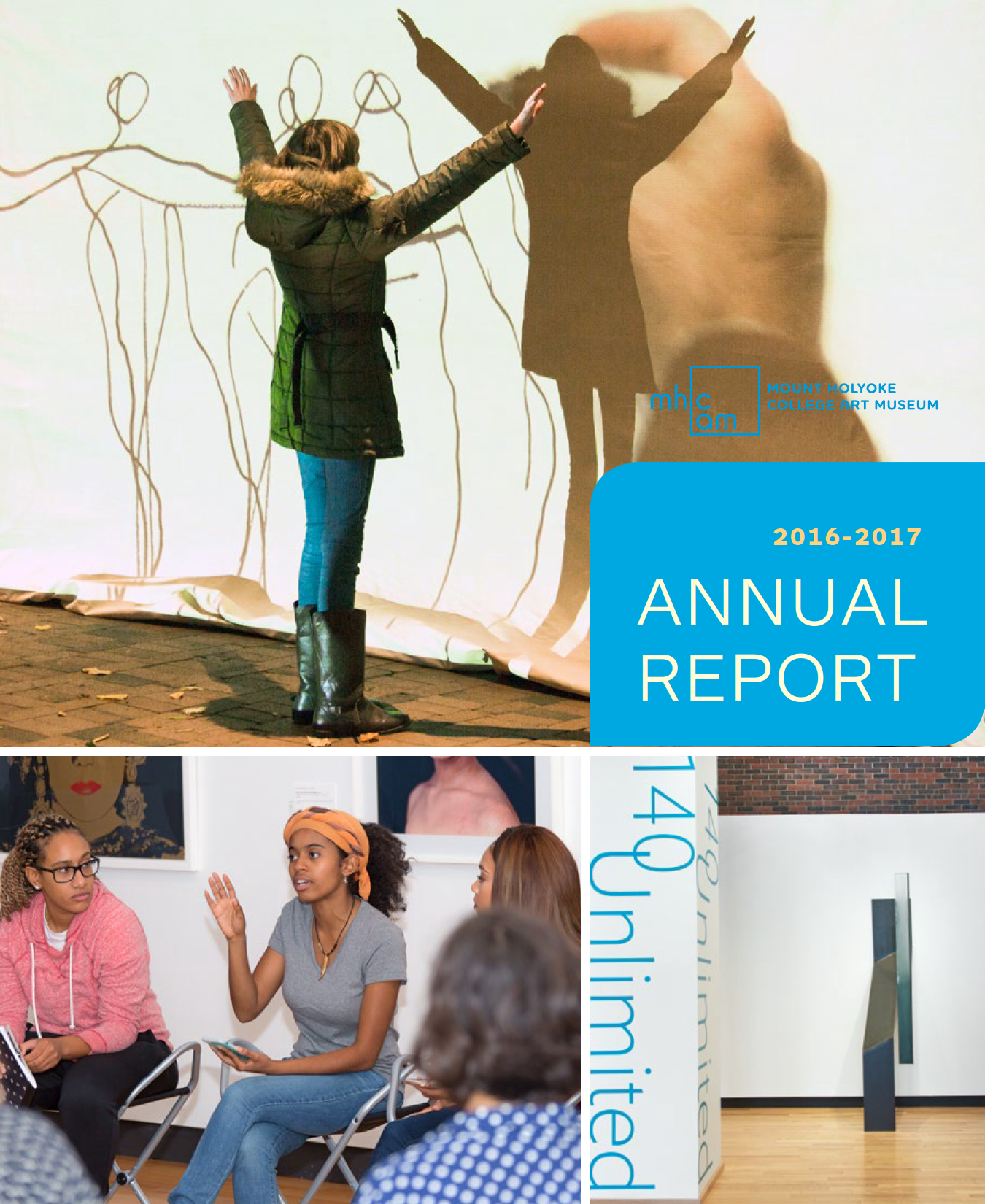 Cover of the 2016-2017 Annual Report
