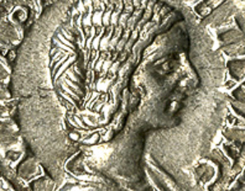 Septimius Severus (minted under), Denarius of Julia Domna