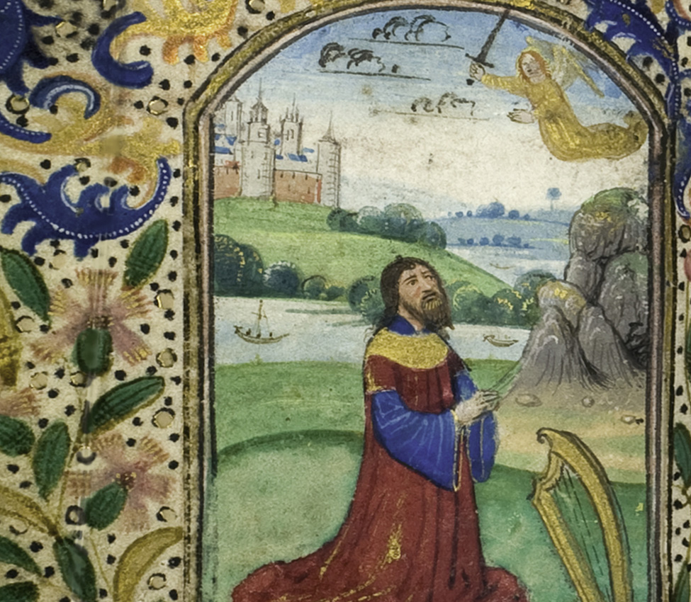 Maker unknown (Flemish), Book of Hours (detail), 15th century