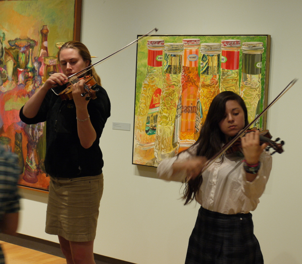 Performance for Sue Barry's Art, Music, and the Brain class, fall 2014