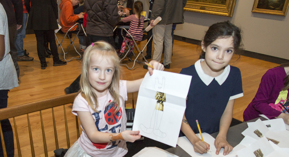 Children's activities at 140th Anniversary Bash, 2016