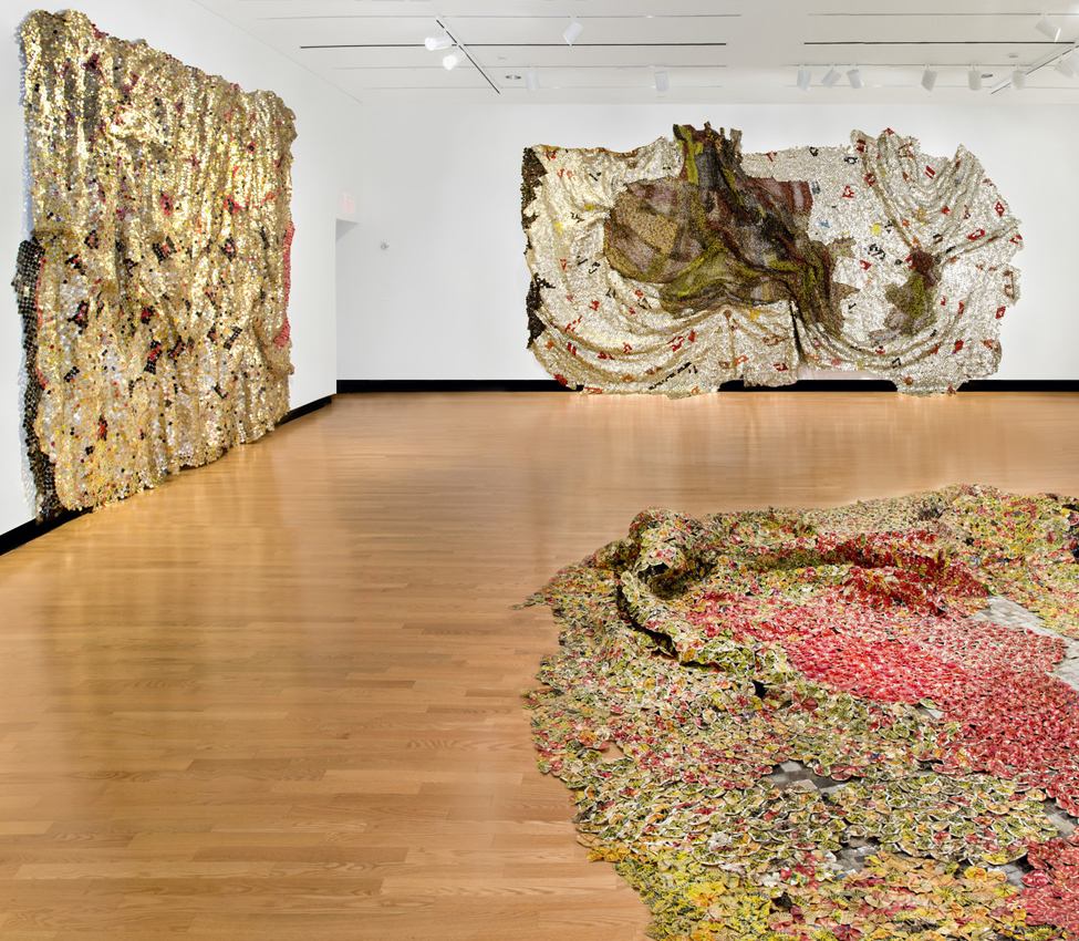 Harriet L. and Paul M. Weissman Gallery Exhibition, El Anatsui: New Worlds