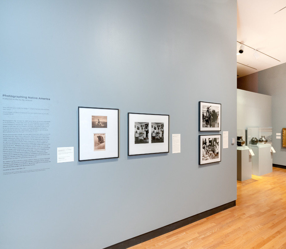 Photgraphing Native America installation view, July 2018
