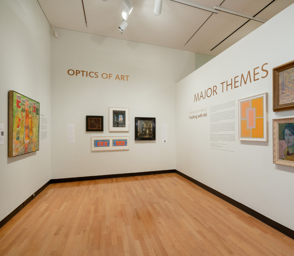 Installation view, Mount Holyoke College Art Museum, August 2018