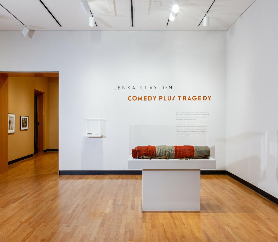Harriet L. and Paul M. Weissman Gallery, Lenka Clayton exhibition, Fall 2021