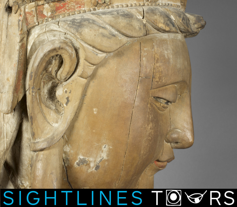 Maggie Kamb '21 Sightlines Tour. Image (detail): Unknown, Guanyin (Avalokiteshvara), 960-1368.