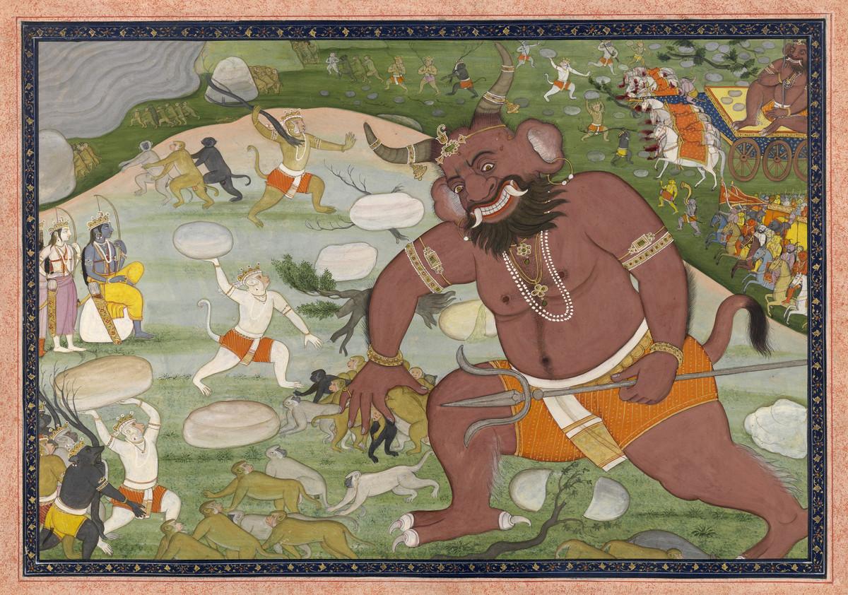 The Ramayana by Lakshmi Lal