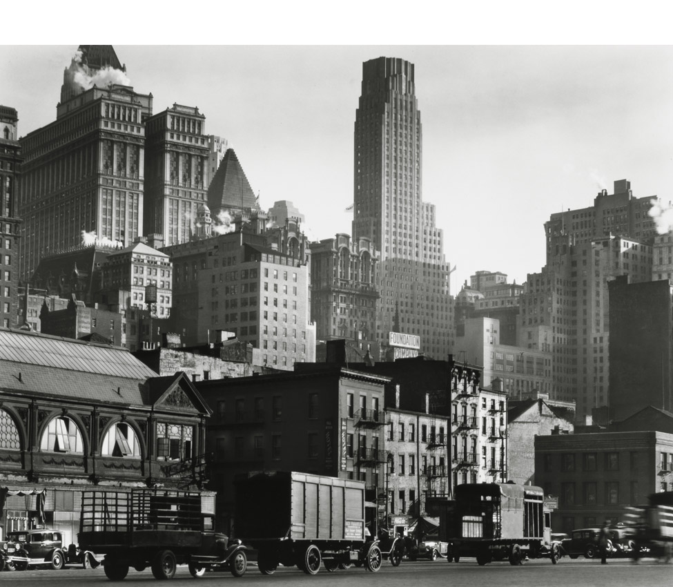 Berenice Abbott (American, 1898-1991), West Street