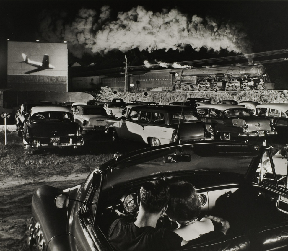 Ogle Winston Link (American, 1914-2001), Hotshot Eastbound, Iaeger, West Virginia, N&W, August 2,1956