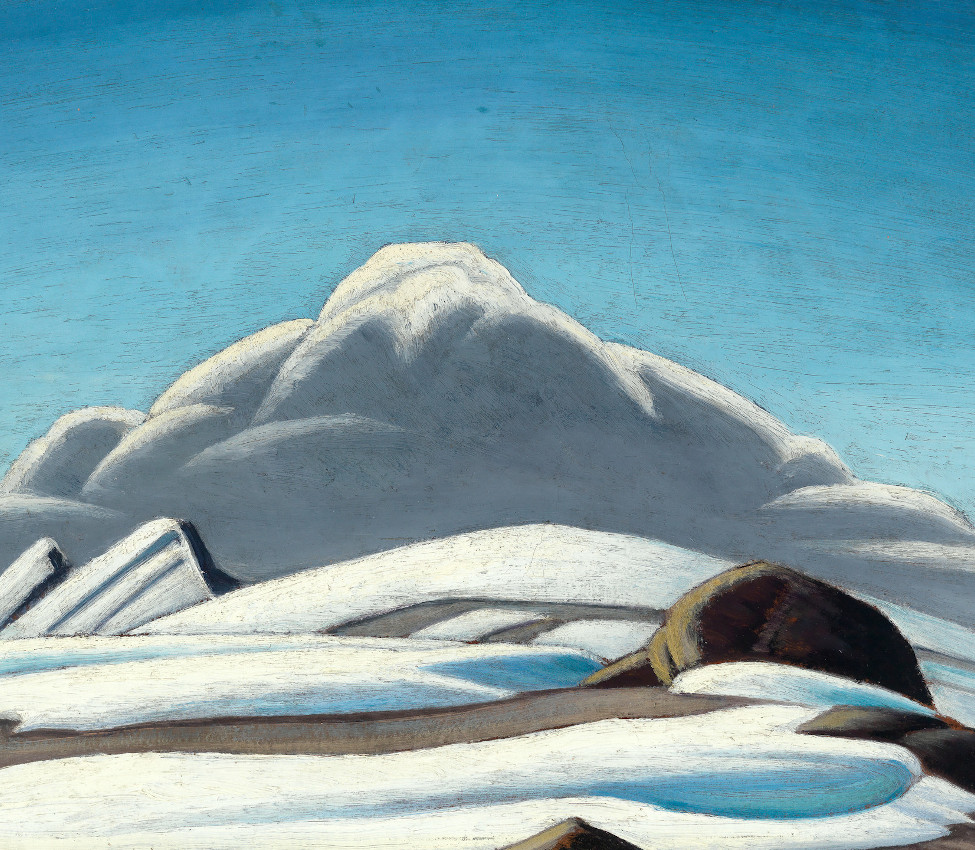 Lawren Harris (Canadian, 1875-1970), Mountain Sketch (detail), ca 1924-28