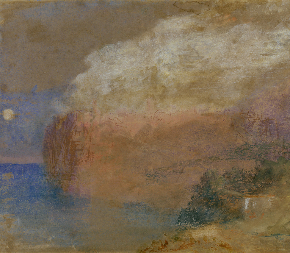 Joseph Mallord William Turner (British, 1775-1851), Corisca (?) a wooded headland, ca. 1828