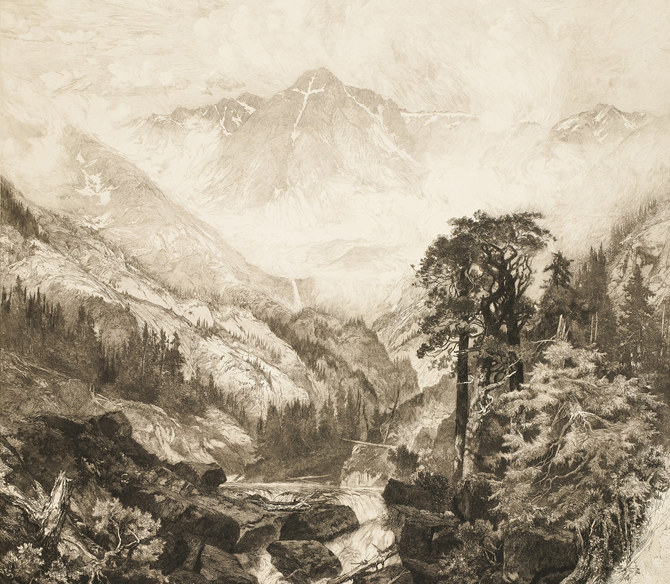 Thomas Moran, Mountain of the Holy Cross