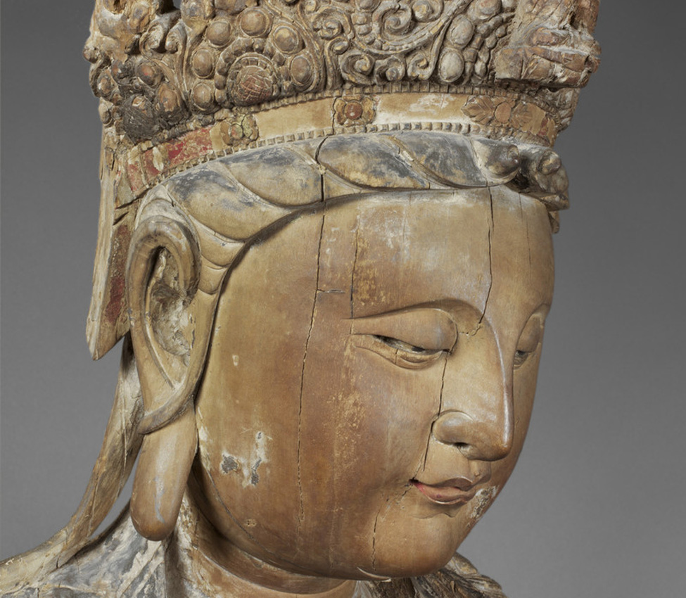 Maker unknown (Chinese), Guanyin (detail), 960-1368