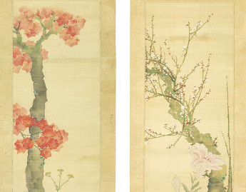 Ikeda Koson (Japanese, 1801-1866), [Autumn and Spring], 19th century