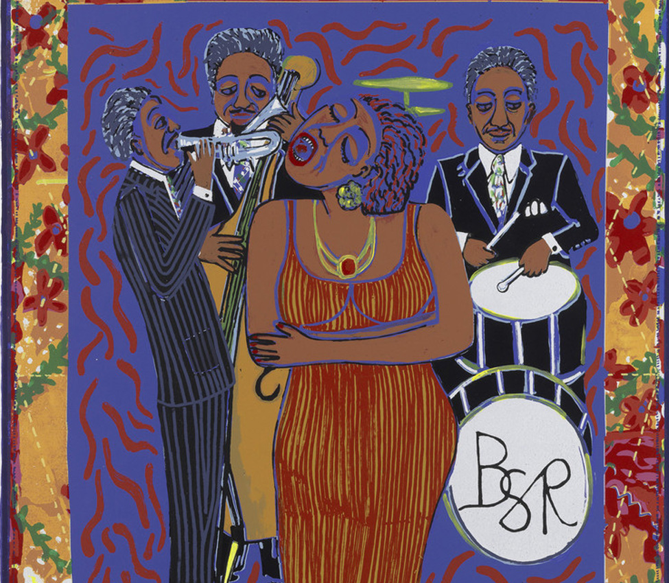 Faith Ringgold (American, b. 1930), Nobody will ever love you like I do, 2006