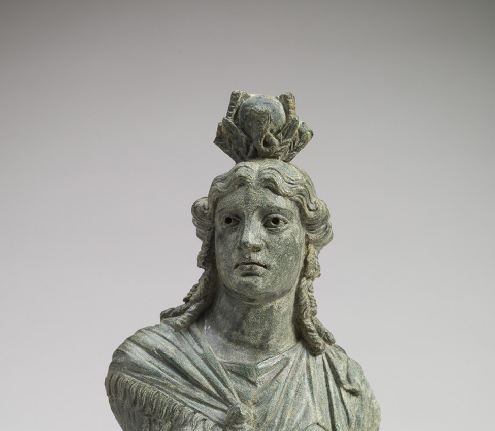 Maker unknown (Roman), Bust of Isis, 2nd century CE