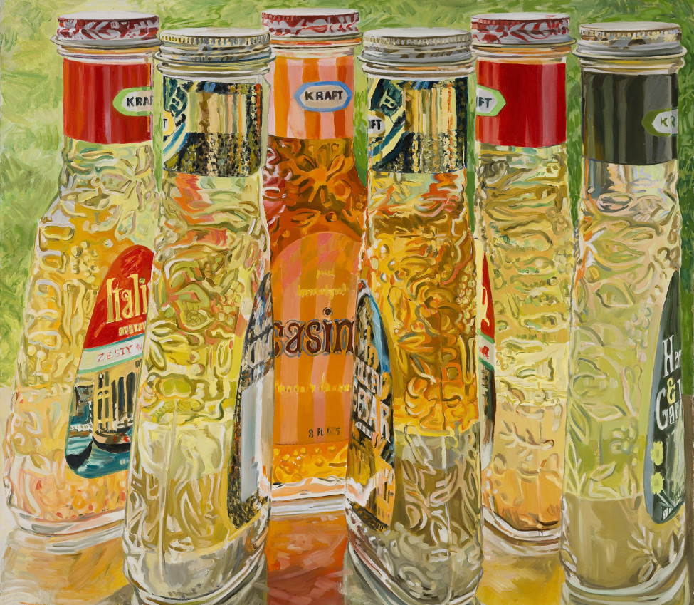Janet Fish (American, b. 1938), Kraft Salad Dressing (detail), 1973
