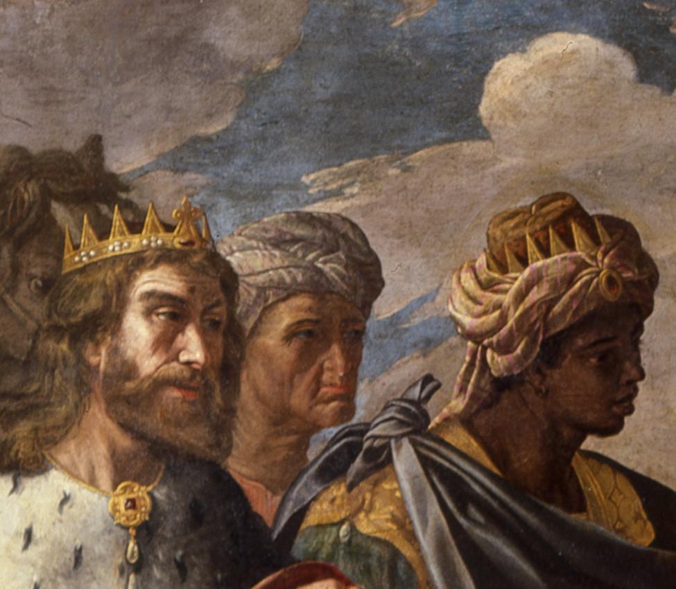 Franco, Giuseppe; Giuseppe de' Monti (Italian, 1550-1628), Adoration of the Magi (detail)