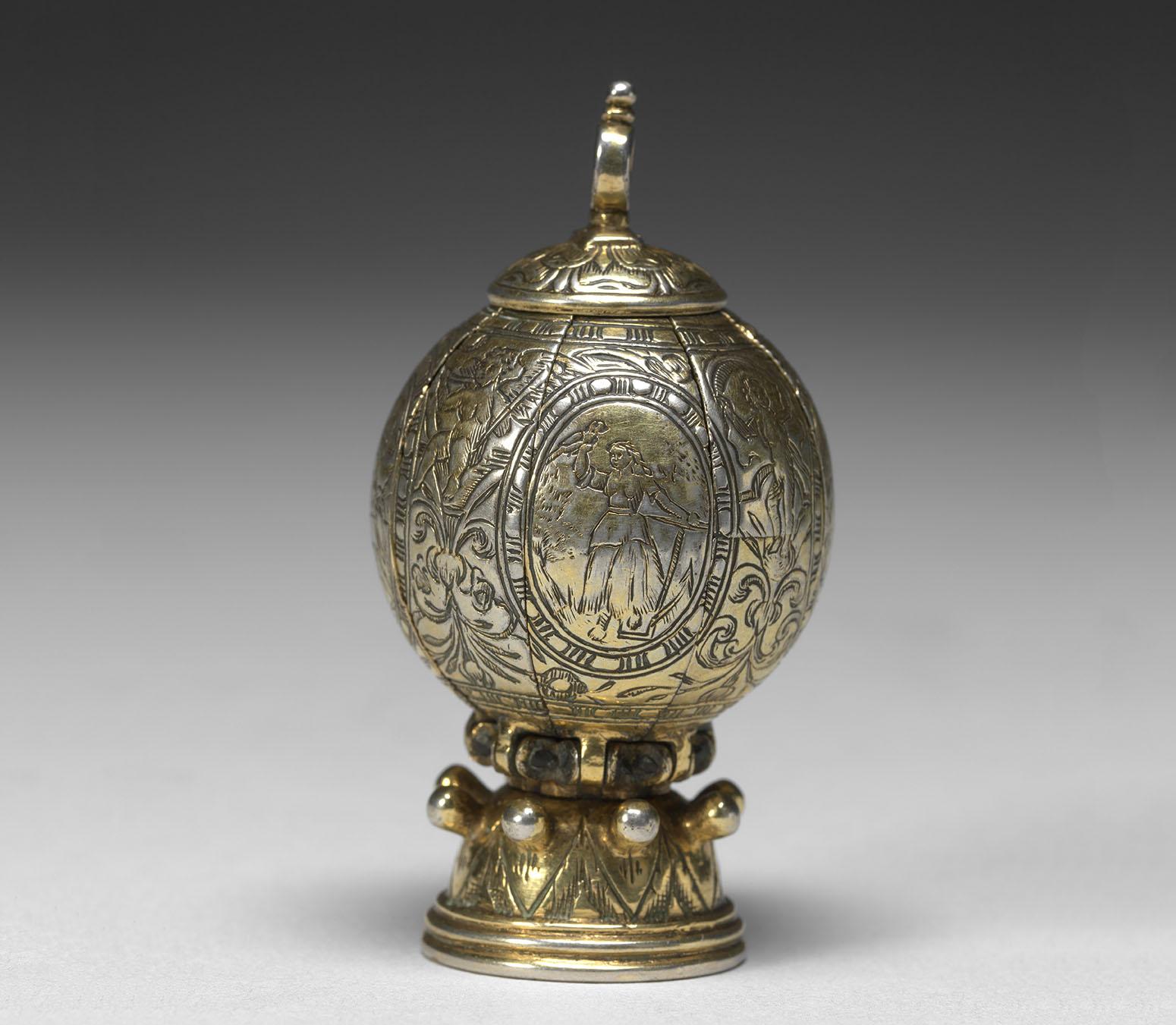 Maker Unknown (German), Pomander, 1580-90