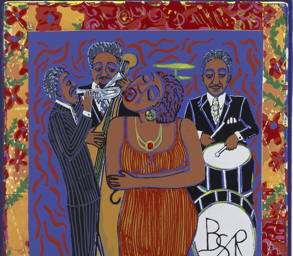 Faith Ringgold (American, b. 1930), Nobody will ever love you like I do (detail), December 10, 2006