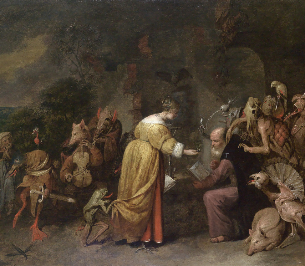 David III Ryckaert (Flemish, 1612-1661), The Temptation of Saint Anthony, 1649