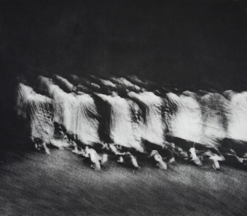Petah E. Coyne (American, b. 1953), Mt. Koyasan (detail), 2012