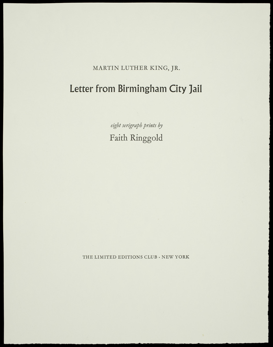 martin luther king jr letter from birmingham jail summary martin luther king jr letter from birmingham city 23585