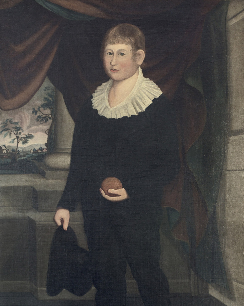 Maker unknown (American), Captain Frances Smith, b. December 22, 1798, Norwich, CT, Lost at Sea in West Indies, ca. 1808-1810