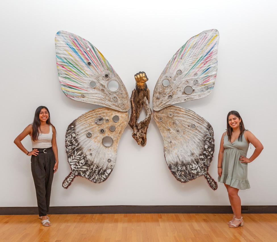 Jennifer Villa and Nicole Lara Granados