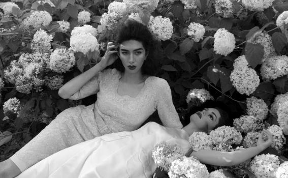 Martine Gutierrez (American, b. 1989), Girl Friends (Rosella & Palma 1) (detail), 2014