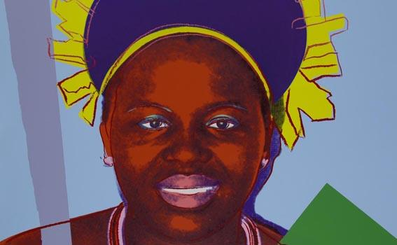 Andy Warhol (American, 1928-1987), Reigning Queens (Royal Edition) (Queen Ntombi), 1985