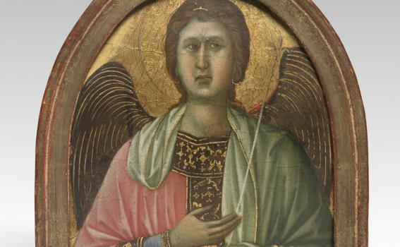 Duccio, Angel (Pinnacle from the Maestà altarpiece)