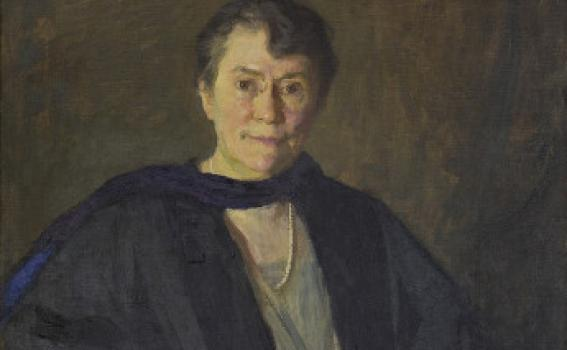 Marie Danforth Page (American, 1869-1940), Mary E. Woolley, 1931