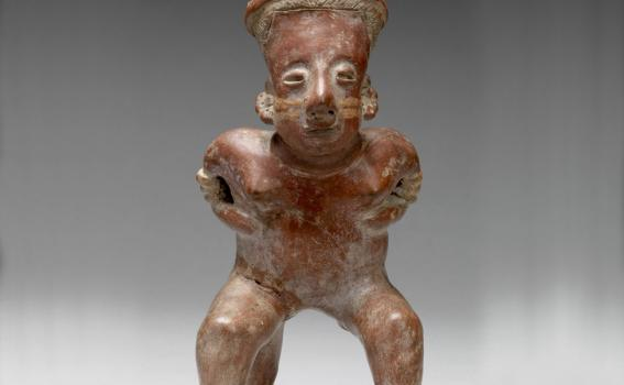 Maker Unknown (Nayarit), Female figure, 250 BCE-250 CE