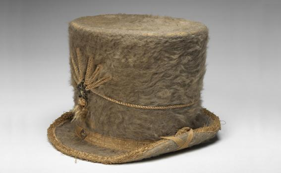 John M. Peck (American), Woman's Riding Hat, 1800-1825