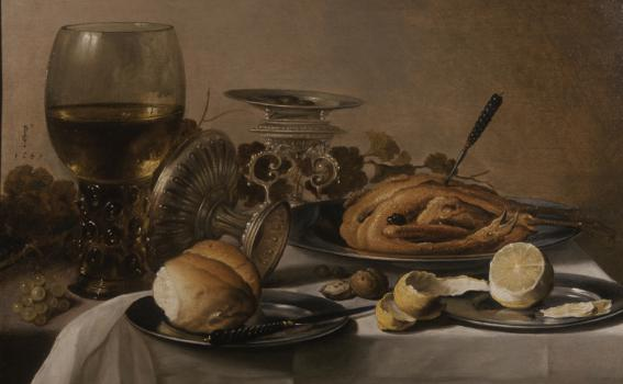 Pieter Claesz., Still-life with Roemer