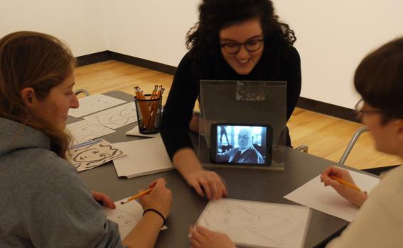 Student Matisse soiree