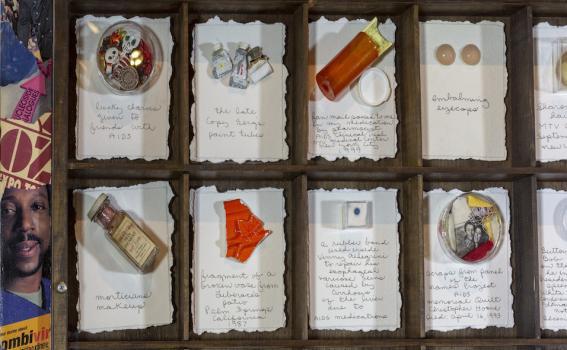 Barton Lidice Benes, AIDS Museum (Reliquarium) (detail), 1999
