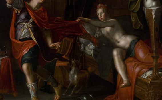 Joachim Anthonisz. Wtewael (Dutch, 1566-1638), Joseph and Potiphar's Wife, ca. 1612