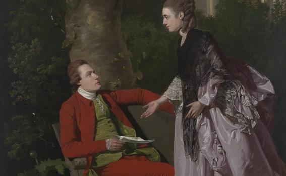 Francis Wheatley (British, 1747-1801), Willoughby Lacy and his Wife, Maria, 1776