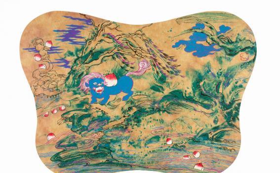 Jiha Moon (South Korean, b. 1973), Nahan's Forty Winks, 2007