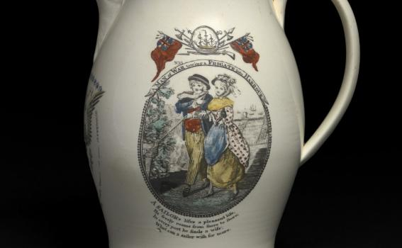 Unknown (British; English), Pitcher, ca. 1810