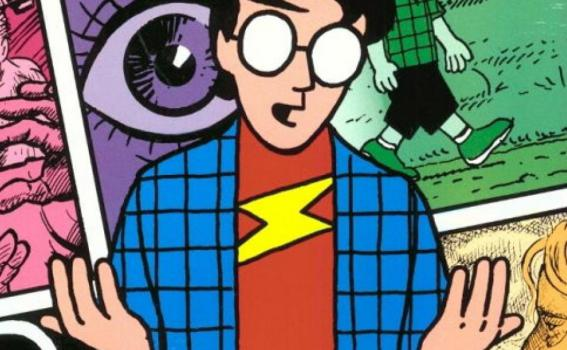 Understanding Comics: The Invisible Art (cover art detail) Scott McCloud, 1993 Designed by Steve Vance and Cindy Vance