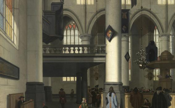 Hendrick van Street (Dutch, 1659-after 1719), Interior of the Oude Kerk, Amsterdam, ca. 1690-1700